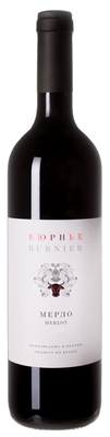 Вино красное сухое «Бюрнье Мерло»