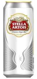 Пиво «Stella Artois» в жестяной банке