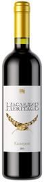 Вино красное сухое «Наследие Каберне» 2015 г.