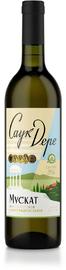 Вино белое полусладкое «Саук-Дере Мускат»
