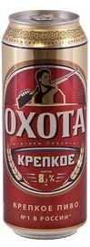 Пиво «Охота Крепкое» в жестяной банке