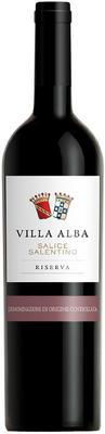 Вино красное сухое «Villa Alba Salice Salentino Riserva» 2013 г.