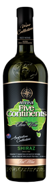 Вино красное сухое «Alvisa Five Continents. Shiraz»