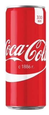 Газированный напиток «Кока-Кола, 0.33 л»