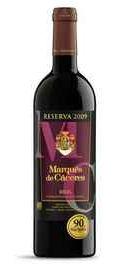Вино красное сухое «Marques de Caceres Reserva»