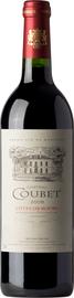 Вино красное сухое «Chateau Coubet»
