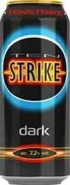 Напиток слабоалкогольный тонизирующий «Ten Strike Dark»