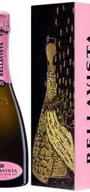 Вино игристое розовое брют «Bellavista Franciacorta Rose» 2011 г., в подарочной упаковке