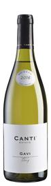 Вино белое сухое «Canti Gavi» 2016 г.
