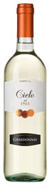 Вино белое полусухое «Cielo e Terra Chardonnay» 2016 г.