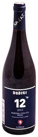Вино красное сухое «Dodici» 2014 г.