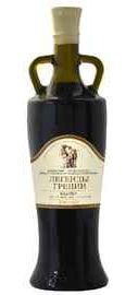 Вино красное полусладкое «Кадарка серия Кувшин оливковая серия Легенды Греции»