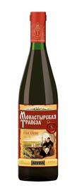 Вино столовое красное сухое «Монастырская трапеза»