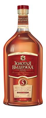 Коньяк российский «Пять звездочек, 0.25 л»