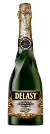Российское шампанское белое сухое «Delasy»