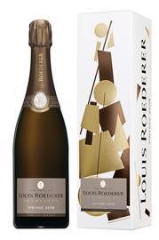 Вино игристое белое брют «Louis Roederer Brut Vintage» 2009 г., в подарочной упаковке