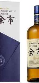 Виски японский «Nikka Yoichi Single Malt» в подарочной упаковке