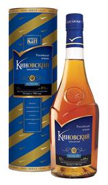 Коньяк российский «КиНовский» в сувенирной упаковке