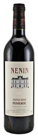 Вино красное сухое «Chateau Nenin» 1999 г.