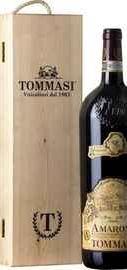 Вино красное сухое «Amarone della Valpolicella Classico» в деревянной подарочной упаковке