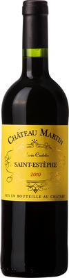 Вино красное сухое «Chateau Martin Cuvee Coutelin»