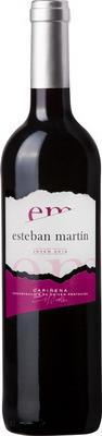 Вино красное сухое «Esteban Martin Joven»