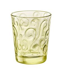 Набор из 3-х стаканов «Bormioli Naos Glass Water Candy Lime» для воды