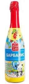 Напиток безалкогольный газированный «Fine Life барбарис»