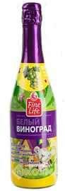 Напиток безалкогольный газированный «Fine Life белый виноград»
