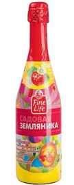 Напиток безалкогольный газированный «Fine Life садовая земляника»