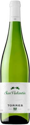 Вино белое полусухое «Torres San Valentin Parellada Catalunya» 2016 г. (Сан Валентин Парельяда), цены. Купить «Torres San Valentin Parellada Catalunya» 2016 г. от WineStreet