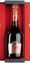 Шампанское «Taittinger Comtes de Champagne Rose» 2006 г. в подарочной упаковке