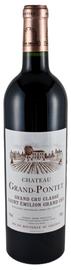 Вино красное сухое «Chateau Grand-Pontet» 2008 г.