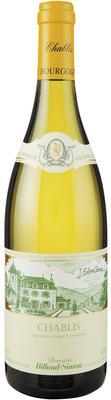 Вино белое сухое  «Billaud-Simon Chablis, 0.75 л» 2015 г.