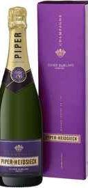 Шампанское белое полусухое «Piper Heidsieck Demi-Sec Sublime» в подарочной упаковке