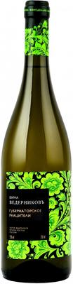 Вино белое сухое «Ведерниковское Губернаторское Ркацители» 2014 г. с защищенным географическим указанием