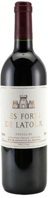 Вино красное сухое «Les Forts de Latour» 2009 г.