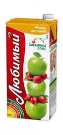 Сок «Любимый Сад витаминный с яблоком и шиповником»