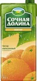 Сок «Сочная Долина нектар апельсиновый»