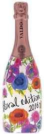 Вино игристое розовое брют «Valdo Rose Brut Floral Edition»