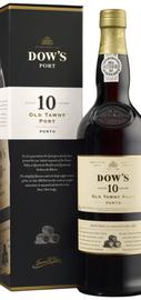 Портвейн сладкий «Dow's Old Tawny Port 10 Years» в подарочной упаковке