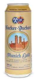 Пиво «Hacker Pschorr Munich Gold» в жестяной банке