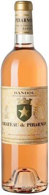 Вино розовое сухое «Chateau Pibarnon Rose, 0.375 л» 2015 г.