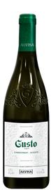 Вино столовое белое полусладкое «Густо Шардоне-Алиготе»