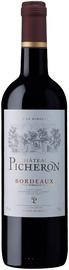 Вино красное сухое «Chateau Picheron» 2014 г.