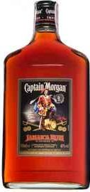 Ром «Captain Morgan Black» фляга