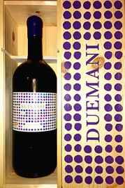 Вино красное сухое «Suisassi» 2011 г. в подарочной деревянной упаковке