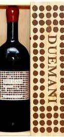 Вино красное сухое «Duemani» 2011 г. в подарочной деревянной упаковке