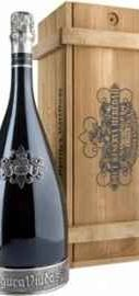 Вино игристое белое брют «Segura Viudas Cava Brut Reserva Heredad» в подарочной деревянной упаковке