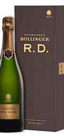 Шампанское белое экстра брют «Bollinger R.D. Extra Brut» 2002 г., в подарочной упаковке